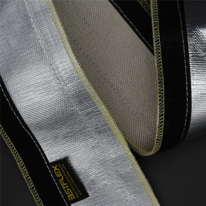 heat reflective sleeve with velcro
