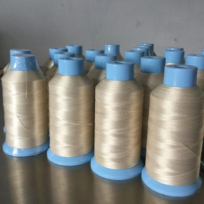 High temperature Fiberglass sewing thread with stainless steel wire