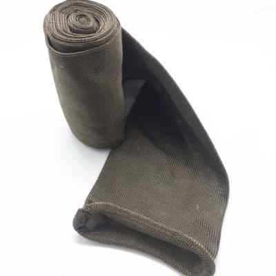 Basalt Fiber Knitted Conformable Exhaust Pipe Insulation Sleeve